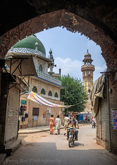 Ancient Gateway @ Walled City of Lahore, Punjab, Pakistan (Feng Wei Photography) Tags: street travel pakistan tourism vertical architecture outdoors ancient asia islam gateway pk punjab lahore islamic traveldestinations colorimage islamicculture indiansubcontinent walledcityoflahore