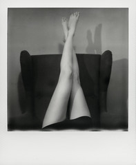 Spring ( Marcin Michalak (MarcinMichalak@outlook.com)) Tags: bw analog naked nude polaroid sx70 blackwhite akt legs poland katowice impossible pl polaroidsx70 nogi lskie impossibleproject theimpossibleproject instantfilmbw