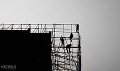 Build (gheckels) Tags: street city urban bw composition temple four blackwhite construction southeastasia scaffolding cityscape bangkok candid streetphotography sillouette rise build carlzeiss urbanvista sonyimages sonya7rii