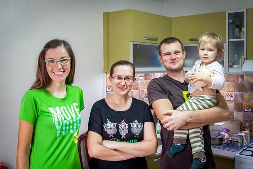 Sympatyczna rodzinka z Biszkek