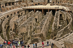 A2570ROMb (preacher43) Tags: italy rome history architecture outdoors arch roman arena emperor gladiator hypogeum colesseum