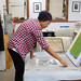 Andrea Chung in the Studio