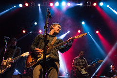 Brian Fallon (redrospective) Tags: red music white london concert guitar gig band instruments koko guitarist electricguitar spotlights shortlist brianfallon april2016 brianfallonandthecrowes 20160408