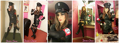 Miss Military Montage (jessicajane9) Tags: leather collage tv uniform boots cd crossdressing tgirl lgbt transvestite trans fancydress transvestism