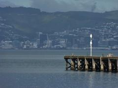 Pierhead (Fraser P) Tags: sea newzealand beach weather cafe harbour wellington petone lowerhutt