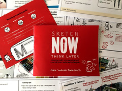 """Sketch NOW Think Later"" Booklet (miked*) Tags: boston mikedaikubara uskmanchester"
