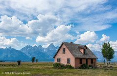 Moulton House (Frank's Focus) Tags: travel august wyoming nationalparks grandteton 2014 mormonrow