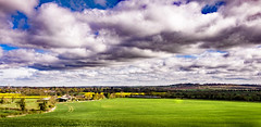 Rutland Panorama (Peter Leigh50) Tags: panorama clouds rutland oakham meridian