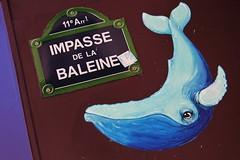 IMG_1307 impasse de la Baleine Paris 11 (meuh1246) Tags: streetart paris animaux baleine paris11 impassedelabaleine lenomdelarue