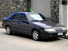 Daewoo Espero CD 2001 (Marcos Acosta) Tags: auto brazil cars car brasil sedan grey automobile voiture coche daewoo carro autos coreano automvil vehiculo espero automvel sed