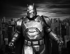 armored Batman (dr.milker) Tags: street urban blackandwhite bw blancoynegro movie noiretblanc taiwan superhero batman taipei       xinyidistrict    dawnofjustice batmanvsuperman
