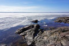Spring In Joensuu (s.niemelainen) Tags: lake ice suomi finland landscape spring north maisema joensuu jrvi j karjala kevt pyhselk kuhasalo carelia pohjois sonya6000