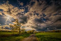 A walk in April (radonracer) Tags: landscape wolken april landschaft niederrhein kapellen