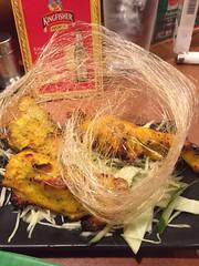 Chicken Tandoori at Spice Box Kanazawa, Japan (Tjeerd) Tags: japan kingfisher indiancuisine kanazawa indianfood indianrestaurant droolworthy spicyfood chickentandoori spicebox tastyfood flavorsofindia spiceitup srilankancuisine indianfoodinjapan