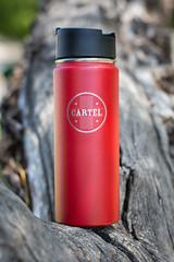 Cartel Hydroflask (EvanJawnson) Tags: arizona tree cup coffee outdoors 50mm bottle nikon drink coffeeshop drinks nikkor friday waterbottle tempe cartel earthday niftyfifty d7100 nikond7100