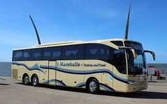 PM16JAM Marshalls at UK Coach Rally 2016 in Blackpool (1 of 2) (Offside View) (j.a.sanderson) Tags: mercedes benz coach rally marshalls blackpool tourismo 2016 mb104 suttonontrent pm16jam