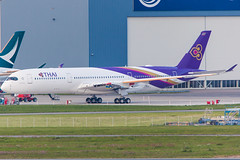 Thai Airways International Airbus A350-941 cn 044 F-WZGQ // HS-THB (Clment Alloing - CAphotography) Tags: cn international thai airbus airways 044 a350941 fwzgq hsthb