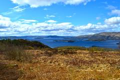 Cashel Forest, Scotland (S. Alexander Gilmour) Tags: sun mountain clouds walking scotland scenery walk hill scenic scottish loch lomond hillwalk