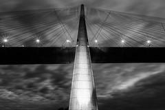 Pylone du Pont de Normandie (Julien Cornette) Tags: bridge ciel pont normandie normandy extrieur pylone pontdenormandie