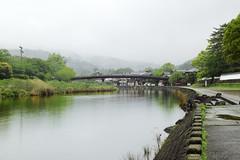 River in a rainy day (sim_limited) Tags: rain japan river rainyday ise mie okageyokocho isuzuriver pentaxlife pentaxk1 pentaxart pentaxflickraward pentaxawards