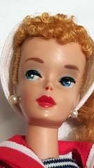 #3 or #4 ponytail Barbie? (Pania Cope) Tags: vintage mod barbie skipper before restore restoration after swirl ponytail tnt midge tlc sidepart bubblecut