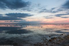 Pastel Sunset on Bali (Nick Lens Photography) Tags: sunset sea bali reflection landscape batu nicklens