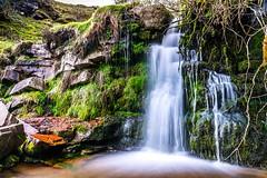 Blaen-Y-Glyn Upper Falls (karlmccarthy1969) Tags: uk longexposure green water wales waterfall moss nikon rocks slow wideangle tamron