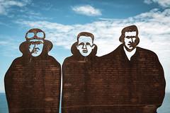 ANZAC Memorial Walk (WhiteWith0ne) Tags: silhouette newcastle memorial war military australia nsw newsouthwales diggers worldwar anzac headland merewether barbeach anzacmemorialwalk newcastlememorialwalk