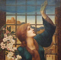 Burne-Jones, Hope (detail) (profzucker) Tags: boston hope museumoffinearts preraphaelite 1896 burnejones prb bjhope