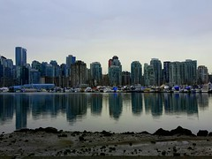 Coal harbor (scrompton94) Tags: reflection vancouver bc seawall stanleypark coalharbor