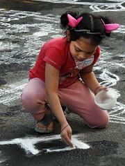 VISION BLESSED (vijvijvij) Tags: kolam rangoli mylapore mylaifestival