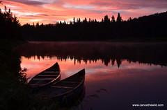 sunrise-canoe-trip-Allagash