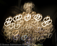 Intentional Camera Motion Blur of a Chandelier Inside a Department Store (Southern New England Photography) Tags: longexposure usa abstract boston ma unitedstates massachusetts newengland chandelier northamerica lighttrails householdobjects intentionalcameramotion