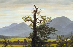 Friedrich, Solitary Tree (or Lone Tree), 1822