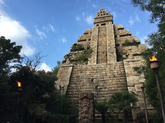 Tokyo DisneySea (jericl cat) Tags: disneysea river lost temple tokyo delta disney mayan indianajones 2015 templeofthecrystalskull