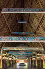Inside Bai (Warriorwriter) Tags: building lines island culture indoors tropical palau bai pw meetingplace oceania koror