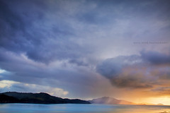 Cloudscapes Over The Whitsundays || QUEENSLAND || AUSTRALIA (rhyspope) Tags: ocean morning sunset sea sky cloud storm pope rain sunrise canon island hamilton australia whitsundays qld queensland 5d aussie rhys mkii rhyspope