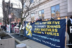 Rally preceded Ft Dix 5 Appeal Hearing (joepiette2) Tags: justice demonstrations protests islamophobia justice4ftdix5