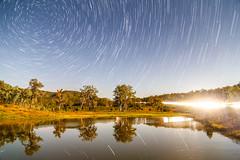 Startrails (Jesse4870) Tags: lake night stars dam south scenic australia brisbane east queensland rim ipswich startrails beaudesert seq moogerah wyaralong