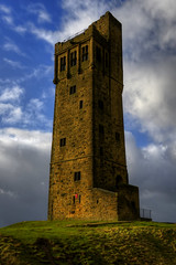 VICTORIA TOWER, CASTLE HILL, HUDDERSFIELD, WEST YORKSHIRE. (ZACERIN) Tags: uk ireland paul anniversary hill victoria queen victorias in tower hill west christopher photography queen of castle towers tower victoria yorkshire victoria only pictures history monument towers huddersfield towers zacerin 60th turreted monuments huddersfield reign