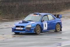 Subaru Impreza (DaveWilcock) Tags: west rally north stages subaru impreza fleetwood northweststagesrally2016