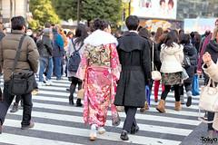 Kimono in Japan 2016 (tokyofashion) Tags: fashion japan japanese tokyo shibuya style kimono obi  furisode 2016 japanesefashion comingofageday
