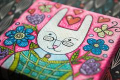 f_rabbit_3 (apolinarias) Tags: rabbit bunny art easter spring etsy