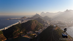 View from Sugarloaf Mountain, Rio de Janeiro (Fong Lim) Tags: travel brazil mountain rio brasil america canon de photography janeiro view photos south sugar latin loaf sugarloaf dslr tamron po lim sud fong acar 60d 18270mm