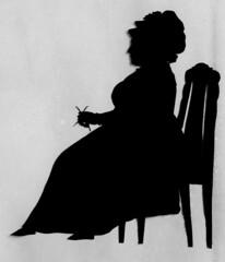 Anna Catharina Tnder (1735 - 1804) (Trondheim byarkiv) Tags: silhouette norway norge knitting profile archive norwegen archives noruega trondheim srtrndelag profil noorwegen silhuett trndelag strikking tnder schattenriss silhuet arkiv trondhjem lysholm trondheimkommune trondheimbyarkiv annacatharinatnder mariewessel torh41b40 franzliboriusschmitz f2960