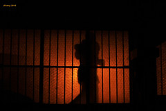 Perdika window 1 (df-stop.) Tags: street city light shadow red urban woman window glass night canon dark walking bars streetlight glow basement greece macedonia thessaloniki sillouette passing timeless macedonian makedonia  macedoniagreece dfstop chancecoincidence