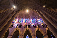 National Cathedral Architecture (A B Pan) Tags: architecture washingtondc washington cathedral national neogothic saintpaul stainedglasswindows episcopalchurch saintpeter washingtonnationalcathedral cathedralchurch