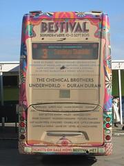 z Advert Bestival 2015 (960x1280) (dearingbuspix) Tags: 1142 goahead southernvectis totlandbay gosouthcoast theislandsbuses hw09bbu
