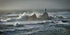 Wave break (pa.herbert) Tags: sea lighthouse waves jersey channelislands corbiere
