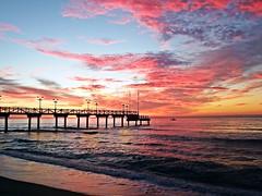 Amanecer en la costa (Antonio Chacon) Tags: españa sunrise mar spain andalucia amanecer costadelsol mediterráneo málaga marbella